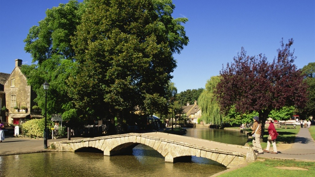 England,Gloustershire,Cotswolds,Bourton-on-the-Water