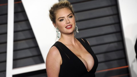 Kate Upton attending the 2016 Vanity Fair Oscar Party Hosted By Graydon Carter at Wallis Annenberg Center for the Performing Arts on February 28, 2016 in Beverly Hills, California.