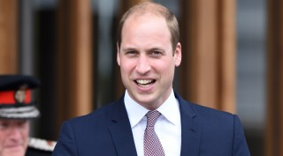 OXFORD, UNITED KINGDOM - MAY 11: Prince William, The Duke of Cambridge gestures as he visits Oxford where he has been invited to see the results of three major investment projects in United Kingdom on May 11, 2016. The Duke departs from the Blavatnik School of Government.  Kate Green / Anadolu Agency