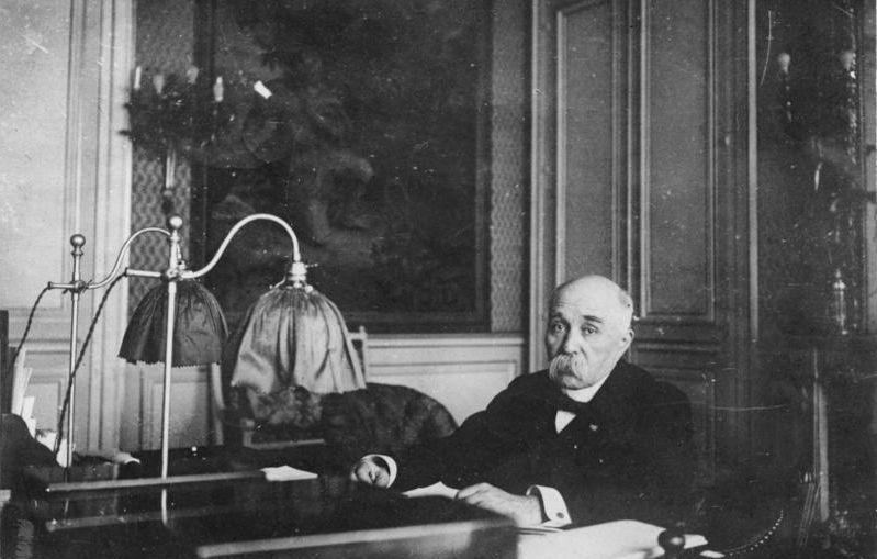 Georges Clemenceau 1929-ben (Bundesarchiv)