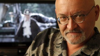 """HOLLYWOOD, CA., SEPTEMBER 7, 2010--Frank Darabont, creator of the new zombie TV show """"The Walking Dead"""" is photogaphed in Hollywood September 7, 2010.  (Kirk McKoy / Los Angeles Times)"""