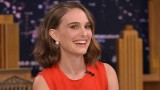 """NEW YORK, NY - JANUARY 27:  Natalie Portman Visits """"The Tonight Show Starring Jimmy Fallon"""" on January 27, 2016 in New York City.  (Photo by Theo Wargo/Getty Images for NBC)"""