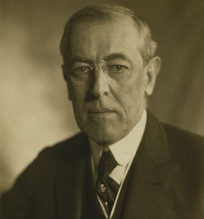 Woodrow Wilson amerikai elnök (Wikipedia)