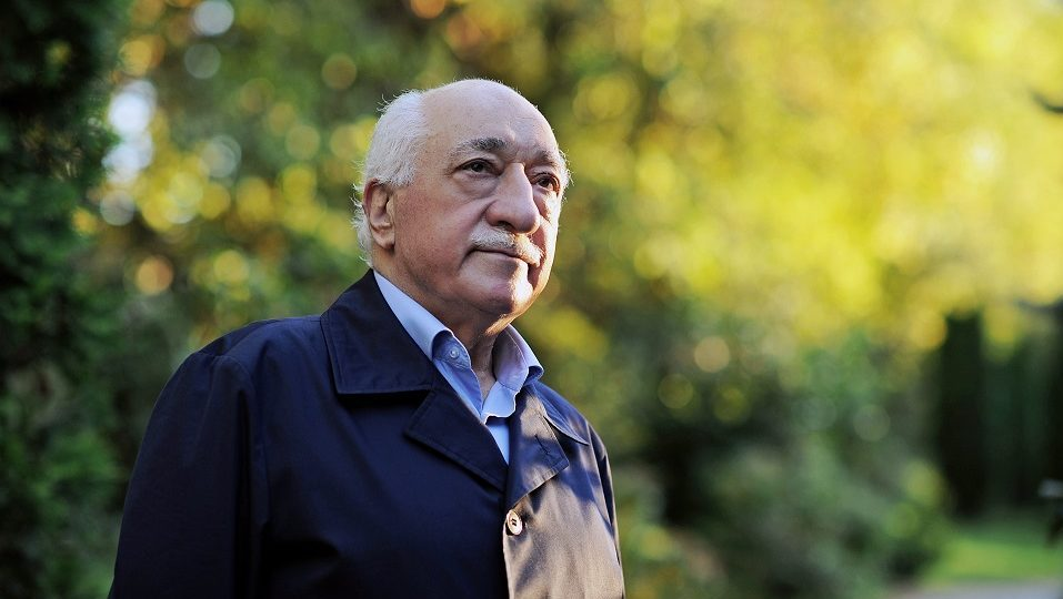 """(FILES) This handout file picture released on September 24, 2013 by Zaman Daily shows exiled Turkish Muslim preacher Fethullah Gulen at his residence in Saylorsburg, Pennsylvania.   The US-based cleric was accused by Ankara of orchestrating Friday's military coup attempt but he firmly denied involvement, also condemning the action """"in the strongest terms"""". / AFP PHOTO / ZAMAN DAILY / SELAHATTIN SEVI / RESTRICTED TO EDITORIAL USE - MANDATORY CREDIT """"AFP PHOTO/ZAMAN DAILY/SELAHATTIN SEVI"""" - NO MARKETING NO ADVERTISING CAMPAIGNS - DISTRIBUTED AS A SERVICE"""