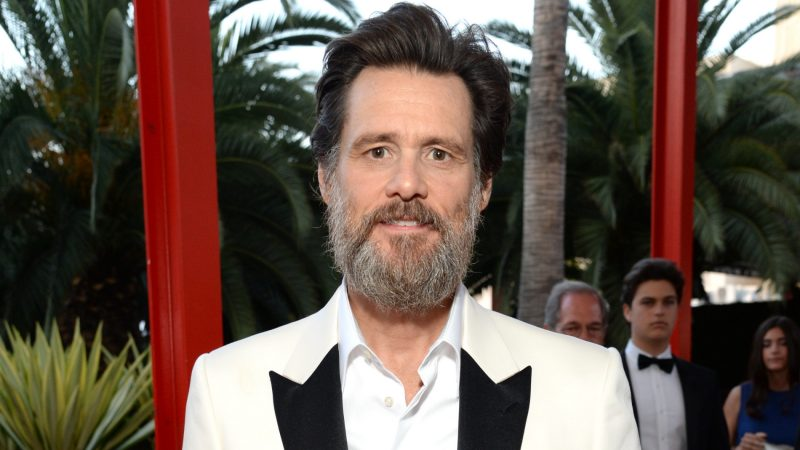 LOS ANGELES, CA - APRIL 18: Actor Jim Carrey attends the LACMA 50th Anniversary Gala sponsored by Christie's at LACMA on April 18, 2015 in Los Angeles, California.   Michael Kovac/Getty Images for LACMA/AFP