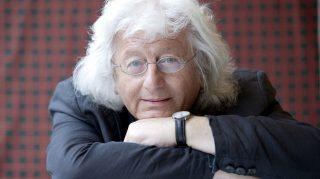 Portrait de l'ecrivain hongrois Peter Esterhazy, 2013 Photographie ©Leonardo Cendamo/Leemage