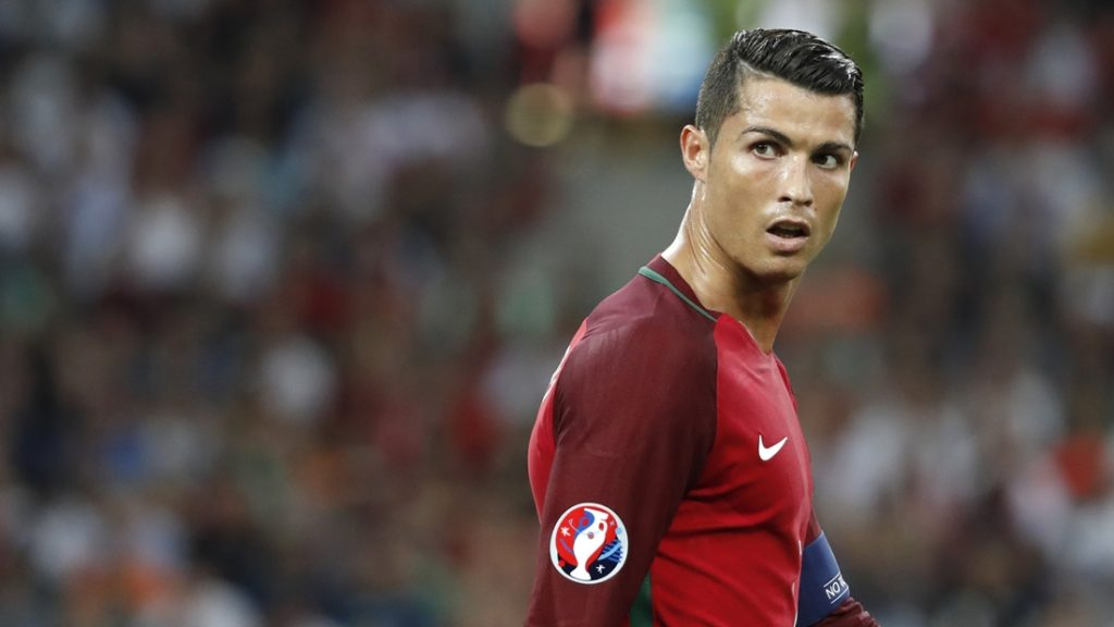 Cristiano Ronaldo of Portugal during the UEFA Euro 2016, Quarter Final football match between Poland and Portugal on June 30, 2016 at Velodrome stadium in Marseille, France - Photo Philippe Laurenson / DPPI