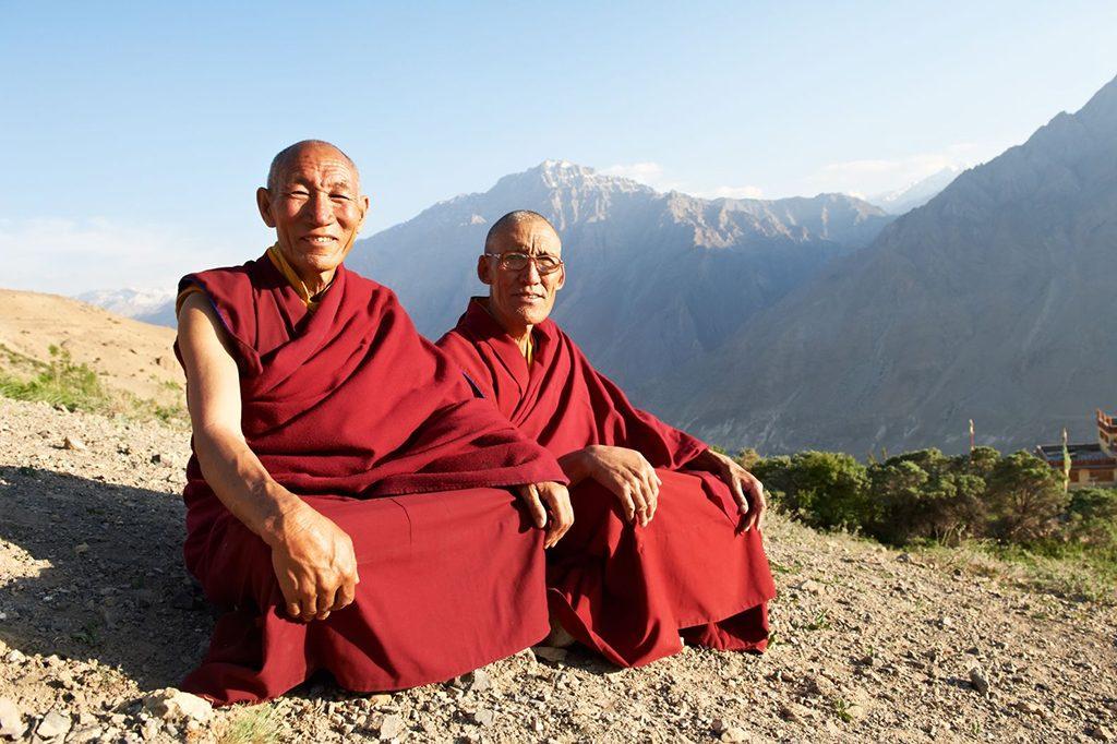 Indiai tibeti szerzetes láma lámák. Fotó:123rf