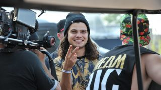 TORONTO, ON - AUGUST 03: Alex Andre of DVBBS performs at 2014 Veld Music Festival at Downsview Park on August 3, 2014 in Toronto, Canada.  (Photo by Sonia Recchia/WireImage)