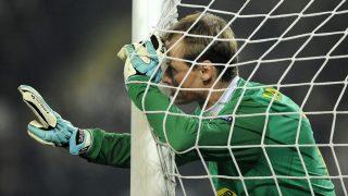 Alex Manninger of Juventus (Photo by AMA/Corbis via Getty Images)