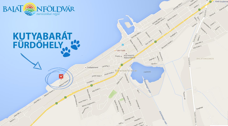 balaton térkép balatonföldvár Balatonföldvár Dog Beach | WeLoveBalaton.hu balaton térkép balatonföldvár