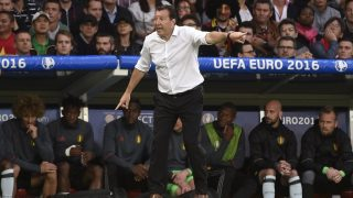 Belgium head coach Marc Wilmots during the UEFA Euro 2016, Quarter Final football match between Wales and Belgium on July 01, 2016 at Pierre Mauroy stadium in Lille Métropole, France - Photo Jean-Marie Hervio / Regamedia / DPPI