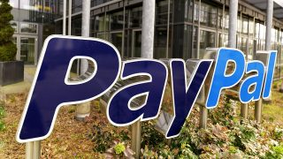 GERMANY - MARCH 19: GERMANY, BERLIN, Exterior view PayPal Germany (Photo by Ulrich Baumgarten via Getty Images)