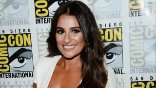 """SAN DIEGO, CA - JULY 22: Actress Lea Michele attends the """"Scream Queens"""" press line during Comic-Con International at Hilton Bayfront on July 22, 2016 in San Diego, California.   Matt Winkelmeyer/Getty Images/AFP"""