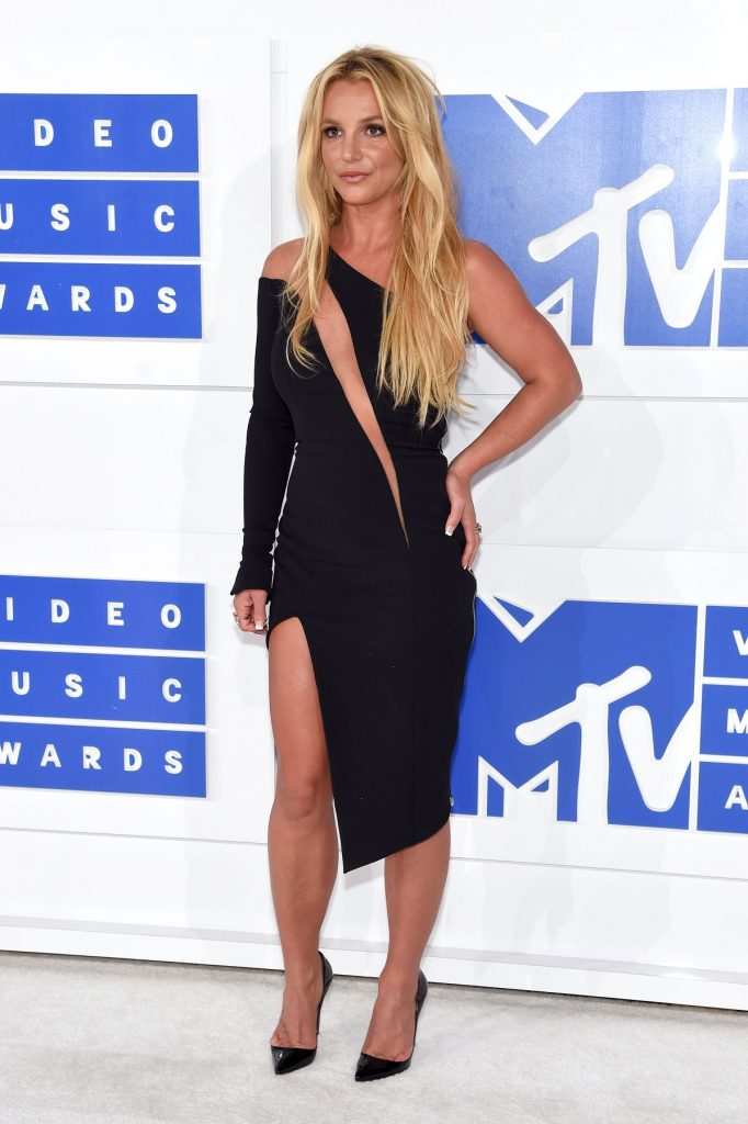 NEW YORK, NY - AUGUST 28: Britney Spears attends the 2016 MTV Video Music Awards at Madison Square Garden on August 28, 2016 in New York City.   Jamie McCarthy/Getty Images/AFP