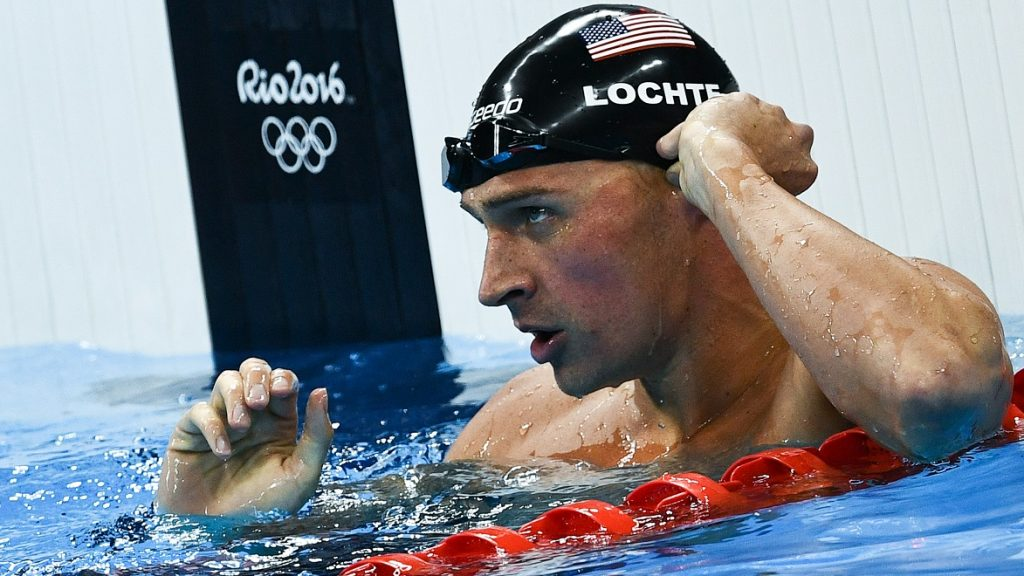 2909649 08/10/2016 Ryan Lochte (USA) during the semifinal heat of the men's individual 200m medley at the XXXI Summer Olympics. Alexander Vilf/Sputnik