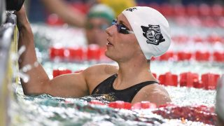 Katinka Hosszu (HUN) competes on Women's 200 m Freestyle during the Fina World Cup Airweare of swimming 2016, at L'Odyssée, in Chartres, France, on August 26-27, 2016 - Photo Stephane Kempinaire / KMSP / DPPI