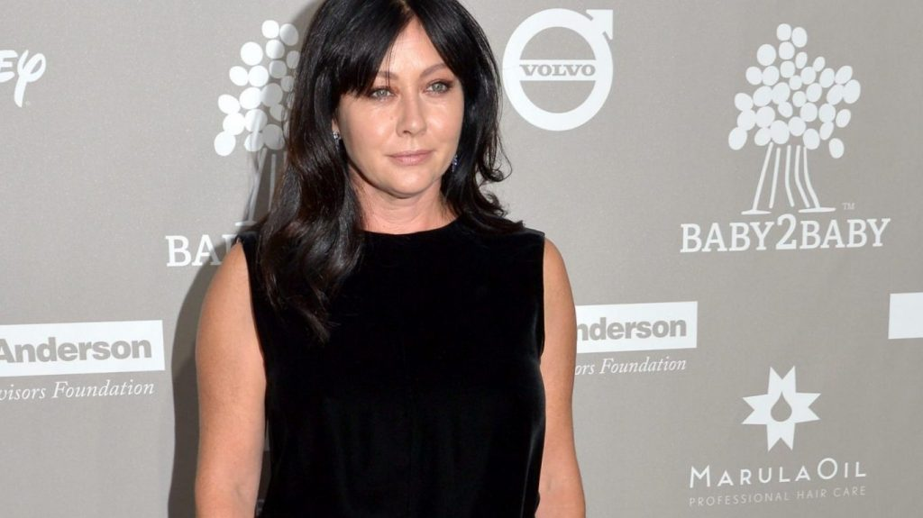 CULVER CITY, CA - NOVEMBER 14:  Actress Shannen Doherty attends the 2015 Baby2Baby Gala at 3LABS on November 14, 2015 in Culver City, California.  (Photo by Lester Cohen/WireImage)