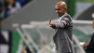 Maritimo's coach Leonel Pontes during the Portuguese League football match between Sporting CP and CS Maritimo at Jose Alvalade Stadium in Lisbon on October 26, 2014. NURPHOTO/CARLOS PALMA. (Photo by Carlos Palma/NurPhoto) (Photo by NurPhoto/NurPhoto via Getty Images)