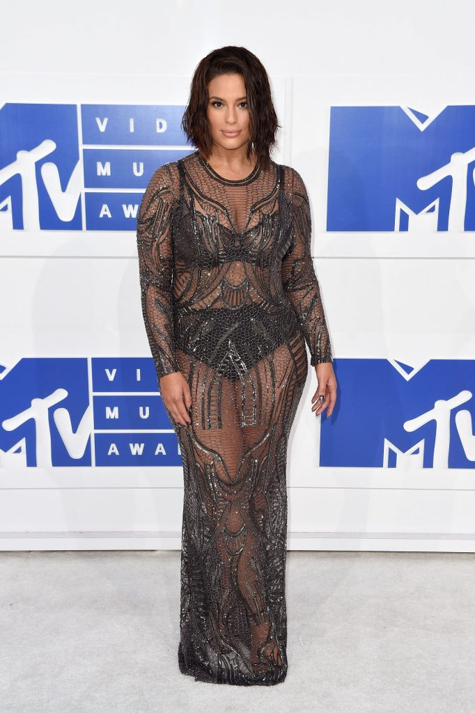 NEW YORK, NY - AUGUST 28:  Model Ashley Graham attends the 2016 MTV Video Music Awards at Madison Square Garden on August 28, 2016 in New York City.  (Photo by Nicholas Hunt/FilmMagic)