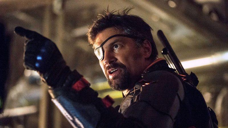 "Cate Cameron | The CW   Manu Bennett as Slade Wilson on ""Arrow"""