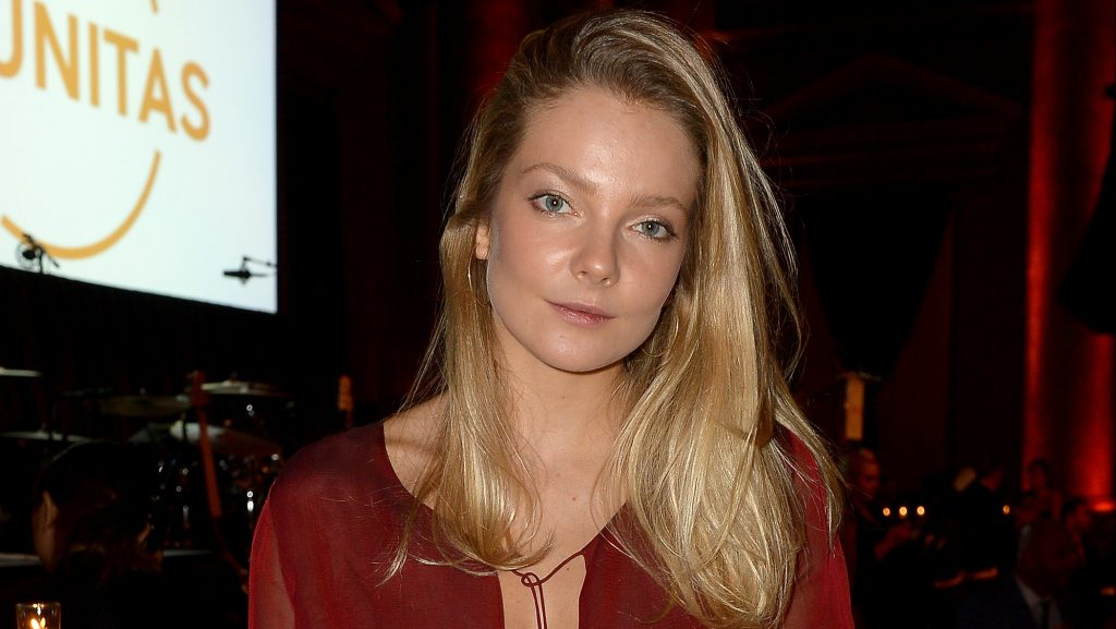 NEW YORK, NY - SEPTEMBER 13: Model Eniko Mihalik attends the UNITAS 2nd annual gala against human trafficking at Capitale on September 13, 2016 in New York City.   Gustavo Caballero/Getty Images for UNITAS/AFP
