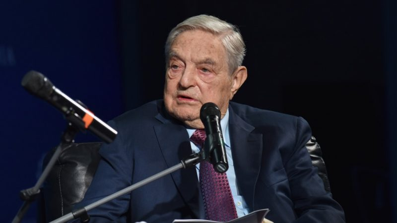 NEW YORK, NY - SEPTEMBER 20: Founder and Chair, Soros Fund Management and the Open Society Foundations George Soros attends 2016 Concordia Summit - Day 2 at Grand Hyatt New York on September 20, 2016 in New York City.   Bryan Bedder/Getty Images for Concordia Summit/AFP