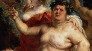 'Bacchus', 1638-1640. Rubens, Pieter Paul (1577-1640). Found in the collection of the State Hermitage, St. Petersburg. (Photo by Fine Art Images/Heritage Images/Getty Images)