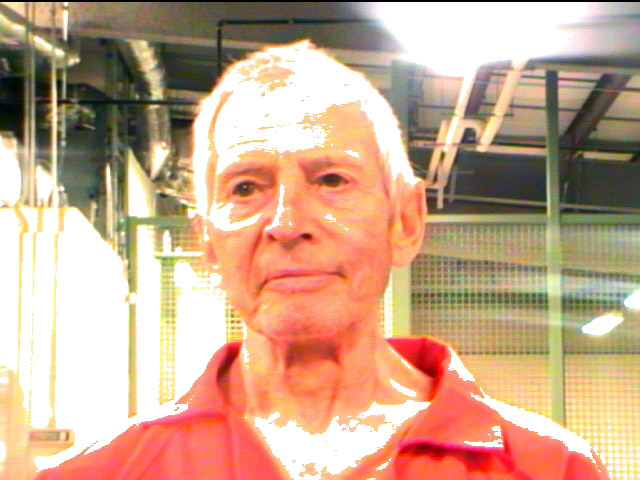 NEW ORLEANS, LA - MARCH 14:  (EDITOR'S NOTE: Best quality available)  In this handout provided by the Orleans Parish Sheriffs Office, OPSO, Robert Durst poses for a mugshot photo after being arrested and detained March 14, 2015 in New Orleans, Louisiana. Family member of a prominent New York City real estate empire and subject of a HBO series, Durst has been arrested on a  first-degree murder warrant issued by police in Los Angeles related to the death of his friend, Susan Berman.  (Photo by Orleans Parish Sheriffs Office via Getty Images)