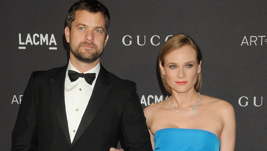 LOS ANGELES, CA - NOVEMBER 07: Actors Diane Kruger and Joshua Jackson arrive at the LACMA 2015 Art+Film Gala Honoring James Turrell And Alejandro G Inarritu, Presented By Gucci at LACMA on November 7, 2015 in Los Angeles, California.  (Photo by Gregg DeGuire/WireImage)