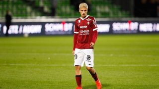 Vincent Thill of Metz  during the French Ligue 1 game between FC Metz and FC Girondins de Bordeauxat Stade Saint-Symphorien on September 21, 2016 in Metz, France. (Photo by Fred Marvaux/Icon Sport) (Photo by Fred Marvaux/Icon Sport via Getty Images)
