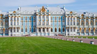 Catherine palace in Pushkin, Saint Petersburg, Russia