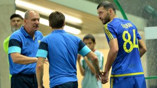 2923589 08/28/2016 Rostov's Alexandru Gatcan, right, after receiving a red card during the Russian Football Premier League's Round 5 match between Terek Grozny and Rostov Rostov-on-Don. Said Tsarnaev/Sputnik