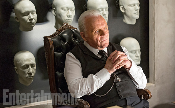 WestworldSeason 1, Episode 3Air Date 10/23/16Pictured: Anthony Hopkins as Dr. Robert Ford