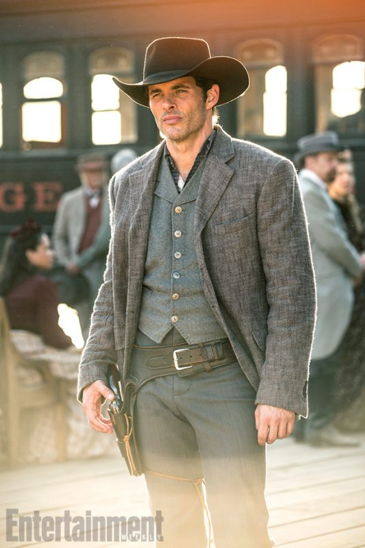 WestworldSeason 1, Episode 1Air Date 10/2/16Pictured: James Marsden as Teddy