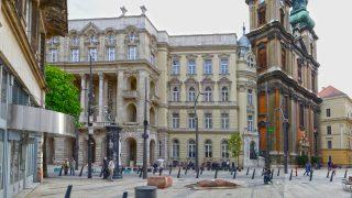 Városkép - Budapest - Az Egyetem tér