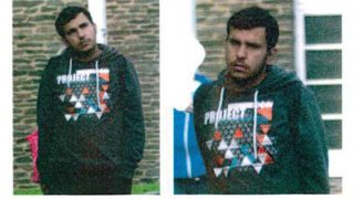 Handout images in connection with a manhunt following the discovery of traces of explosives during a search at an apartment in Chemnitz, showing wanted person Jaber al-Bakr from 8 October 2016. (Photo: Polizei Sachsen/dpa)