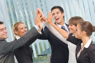 http://www.dreamstime.com/royalty-free-stock-image-happy-business-team-office-image6370746