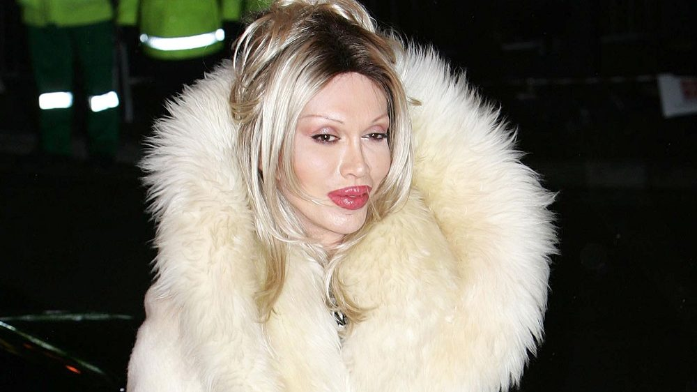 """Pete Burns during """"Celebrity Big Brother 4"""" - First Night at Elstree Studios in Borehamwood, United States. (Photo by Goffredo di Crollalanza/FilmMagic)"""