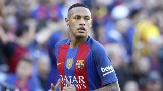 Neymar da Silva Santos of Barcelona looks ahead during the La Liga match between FC Barcelona and Deportivo de la Coruna played at the Camp Nou Stadium, Barcelona, Spain, on October 15, 2016 - Photo Bagu Blanco / Backpage Images / DPPI