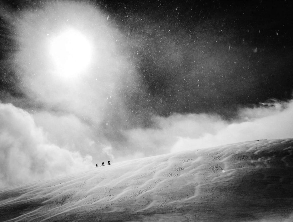 """Red Bull Illume Image Quest 2016, Category Winner: Mobile Photographer Credit: Vegard Aasen / Red Bull Illume Athlete: Unknown Location: Hakuba, Japan  This image is free for editorial purposes (""""Communication Use"""") only when used in relation to Red Bull Illume. Please note that the above Photographer Credit always needs to be applied. // Red Bull Illume 2016  // P-20160922-00573 // Usage for editorial use only // Please go to www.redbullcontentpool.com for further information. //"""