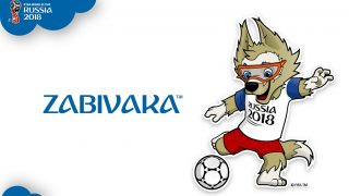 """A handout picture released on October 22, 2016 from FIFA shows """"Zabivaka"""" the mascot for the 2018 football World Cup in Russia. The wolf, unveiled to the public early on October 22, 2016 after a month of online voting, prevailed over a cat and a tiger dressed in a space suit after receiving more than half the votes. The mascot -- named """"Zabivaka"""", which in Russian means """"one who scores"""" -- was presented on a popular late-night show on Pervy Kanal state television. More than one million people voted in the contest following what FIFA said was """"the most engaging creative process"""" for selecting an official mascot in its history. Russia is set to host the 2018 World Cup in 11 cities including Moscow, Saint Petersburg and Sochi.  / AFP PHOTO / FIFA / STRINGER / RESTRICTED TO EDITORIAL USE - MANDATORY CREDIT """"AFP PHOTO / FIFA"""" - NO MARKETING NO ADVERTISING CAMPAIGNS - DISTRIBUTED AS A SERVICE TO CLIENTS"""