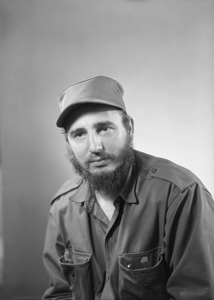 Fidel Castro and his revolutionary army overthrew the Cuban government led by President Fulgencio Batista. (Photo by © Lester Cole/CORBIS/Corbis via Getty Images)