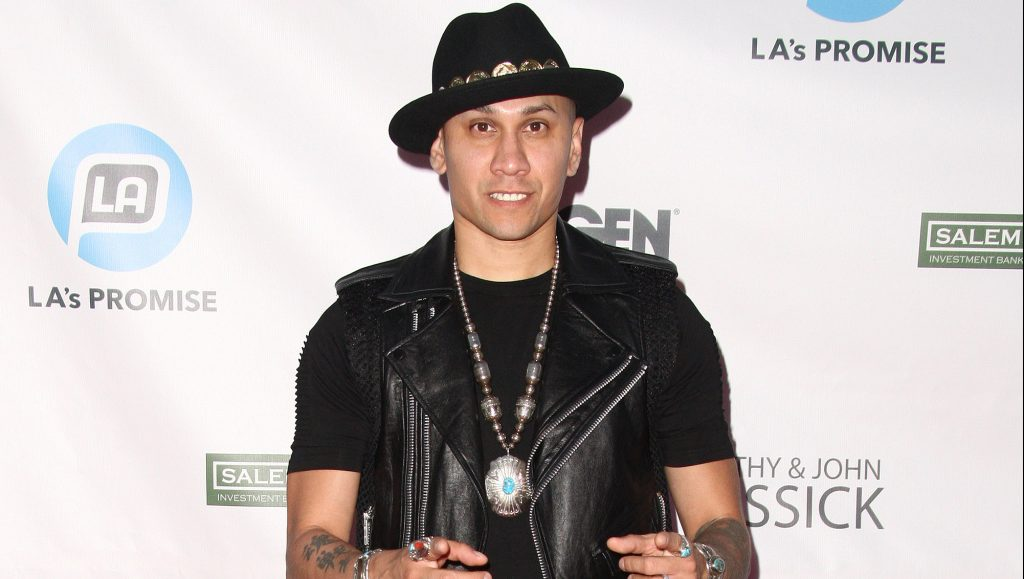UNIVERSAL CITY, CA - SEPTEMBER 30:  Rapper Taboo attends the 2015 LA's Promise Gala held at Universal Studios Hollywood on September 30, 2015 in Universal City, California.  (Photo by Tommaso Boddi/WireImage)