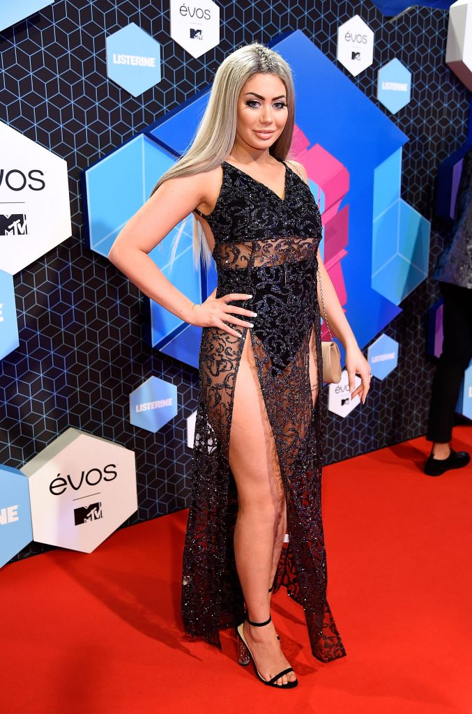 ROTTERDAM, NETHERLANDS - NOVEMBER 06:  Chloe Ferry attends the MTV Europe Music Awards 2016 on November 6, 2016 in Rotterdam, Netherlands.  (Photo by Kevin Mazur/WireImage)
