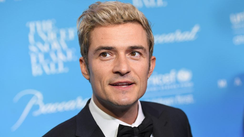 Orlando Bloom attends the 12th Annual UNICEF Snowflake Ball at Cipriani Wall Street on November 29, 2016 in New York City. / AFP PHOTO / ANGELA WEISS