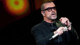 FILE - An archive picture dated 05 September 2011 shows George Michael in Berlin, Germany. The singer is on the mend again. According to the doctors of the General Hospital in Vienna on 30 November 2011, George Michael is getting better continously. The doctors also committed to have treated the pop star due to pneumonia. Photo: Joerg Carstensen | usage worldwide