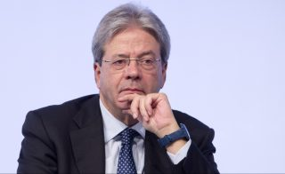 ROME, ITALY - DECEMBER 3: Italian Foreign Minister Paolo Gentiloni speaks during the Forum MED Mediterranean Dialogues summit in Rome, Italy, on December 3, 2016.   Riccardo De Luca / Anadolu Agency