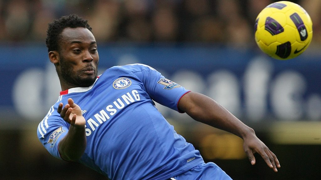 Michael Essien of Chelsea (Photo by AMA/Corbis via Getty Images)