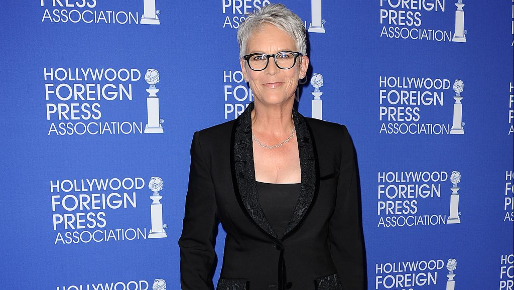 BEVERLY HILLS, CA - AUGUST 04:  Actress Jamie Lee Curtis attends the Hollywood Foreign Press Association's grants banquet at the Beverly Wilshire Four Seasons Hotel on August 4, 2016 in Beverly Hills, California.  (Photo by Jason LaVeris/FilmMagic)